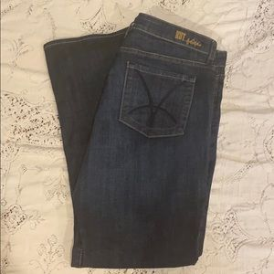 Kut from the Kloth Natalie bootcut jeans. Size 16